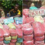 Police Arrest Military Officer With Large Quantity Of Indian Hemp [PHOTOS]