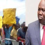 Protesters demand Ambode's probe