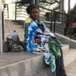 Woman, child camp at Nigerian consulate in Johannesburg for next flight home (Video)