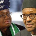 Buhari condoles with Okonjo-Iweala over death of dad (photos)