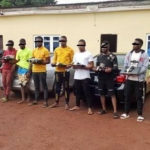 PHOTOS: EFCC Arrests 13 Yahoo Boys In Enugu