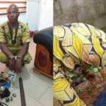 Police Arrest Welder Who Kills Okada Man, Removes His Intestines In Niger (photos)