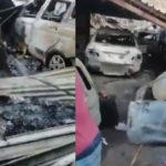 VIDEO & PHOTOS: South Africans Set Cars And Properties Owned By Nigerians On Fire, Nigerian Embassy Allegedly Attacked