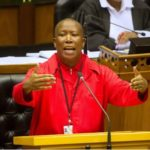Xenophobic Attack: South African Freedom Fighter, Malema Sends Strong Message To Foreigners
