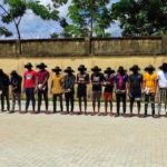 27 Internet Fraudsters arrested with different cars, Laptops as EFCC storms Owerri hideouts