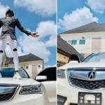 Akpororo Acquires A New Car (Photos)