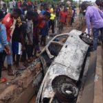 BREAKING: Protest as motorist kills three sisters