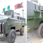 Nigerian Army Set To Launch First Indigenous Mine Resistant Ambush Protected Vehicle (photos)