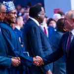 PHOTOS: Buhari Meets Putin, Others At Russia-Africa Summit