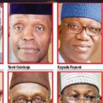 8 Top Runners For Nigeria's Presidency In 2023 Revealed (Tinubu,Osinbajo,El-Rufai, Jega & More)