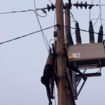 PHOTOS: Suspected Transformer Vandal Electrocuted In Abuja