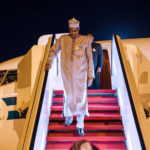 PHOTOS: President Buhari Arrives Nigeria After Private Visit To The UK