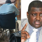 Ex-Pension Boss, Maina Arrives Court In Wheelchair For Trial (photos)