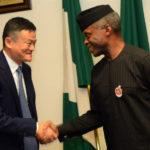 PHOTOS: Founder Of Alibaba, Jack Ma In Nigeria
