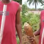 Bomb found behind a school in Awka, Anambra State (Photos)