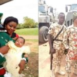 Photos: Young Nigerian Soldier, Macpius Otu KIlled By Boko Haram In Maiduguri
