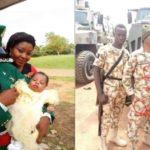 Photos: Young Nigerian Soldier, Macpius Otu KIlled By Boko Haram In Maiduguri