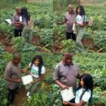 Beautiful Nigerian Graduate Celebrates Her Poor Farmer Father In Style (Photos)