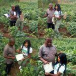 Beautiful Nigerian Graduate Celebrates Her Poor Farmer Father In Style (Photos)