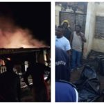 PHOTOS: Permanent Secretary, His Pregnant Wife And Two Kids Burnt To Death In Fire Outbreak In Makurdi
