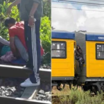 15-Year-Old Boy Hanging On The Carriage Door Of A Trains, Dies After Falling Off