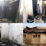 Students, Journalists Count Losses As Fire Guts Lodge In Bauchi (photos)