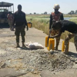 Final Clearance Operation: Army Troops Mend Last Road Leading To Boko Haram Hideout (see photos)