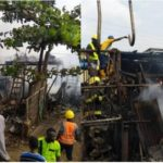 30 Shops Burnt As Fire Guts Owode-Onirin Market In Lagos (photos)