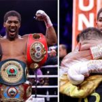 'I Said I Would Correct Myself'; Anthony Joshua Speaks After Reclaiming His Heavyweight World Titles — See Photos From The Fight