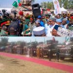 President Buhari Unveils Made-In-Nigeria War Vehicles (photos)