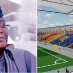 PHOTOS & VIDEOS: Sanwoolu Names Onikan Stadium After Mobolaji Johnson