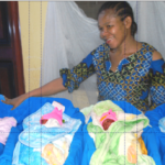 Residents besiege Enugu hospital to catch glimpse of quadruplets