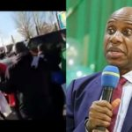 VIDEO & PHOTOS: How Spanish Police Prevented IPOB From Attacking Amaechi
