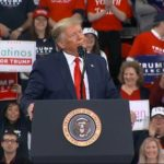 Trump Slams Democrats At Rally, Says His Opponents Are 'Embarrassed' By Impeachment