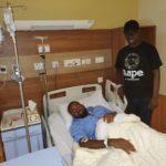 Photos Of Activist, Deji Adeyanju Being Treated In A Dubai Hospital Emerge Online