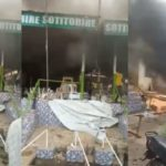 VIDEO & PHOTOS: Angry Youths Set Sotitobire Church Ablaze As Ondo Missing Child Is Allegedly Buried In Altar