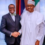 Buhari Meets President Of AfDB, Adeshina At Aso Rock