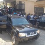 PHOTOS & VIDEO: Heavily-armed DSS Operatives Chase Falana, Rearrest Omoyele Sowore