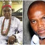 Nnamdi Kanu loses dad, few months after mum's tragic death