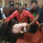 VIDEOS & PHOTOS: DSS Attempts To Rearrest Sowore In Court, Chases Away Judge