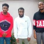 Suspected Yahoo Boys Smile To Prison After Court's Ruling
