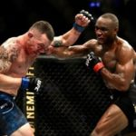 Nigeria's Kamaru Usman Beats Colby Covington Via Knockout To Retain UFC Welterweight Title (Photos & Video)