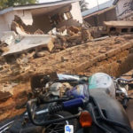 BREAKING: Tension as Kwara govt demolishes Saraki's house (photos)