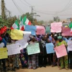 PHOTOS: Angry PDP Members Storm Streets To Protest Supreme Court Ruling On Imo Election