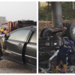 Two Die In Otedola Bridge Auto Crash [PHOTOS]