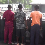 Cameroon Bound Wooden Boat With 144 Drums Of Diesel Intercepted By Nigerian Navy