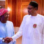 Buhari Meets Guinea Bissau President-Elect In Aso Rock