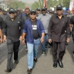 Imo: Secondus, Obi Lead PDP Protest In Abuja Amid Tight Security