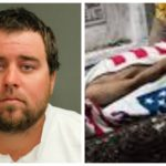 Man Kills Boss, Covers Dead Body With American Flag For Being Trump's Supporter
