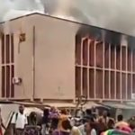 VIDEO: Tragedy As Fire Razes Sonwo Hospital In Orita Challenge, Ibadan
